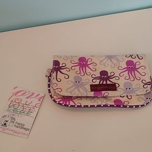 Bungalow 360 canvas clutch